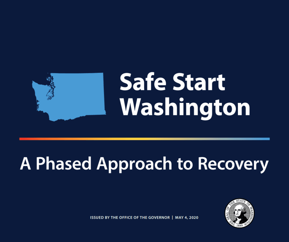 Graphic for Safe Start Washington