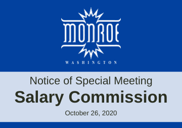 Salary Commission Special Meeting
