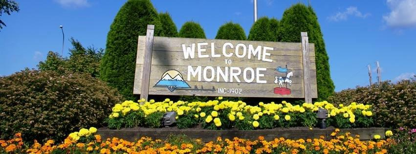 Monroe, Washington is located 50 miles west of the Cascade Mountains and 30 miles northeast of Seattle. Many people automatically associate Monroe with the ...